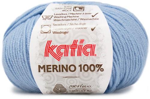 Katia Merino 100% 8 Sky blue