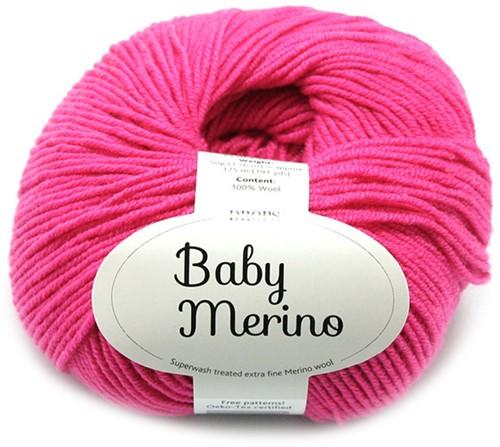 Drops Baby Merino Uni Colour 08 Cerise