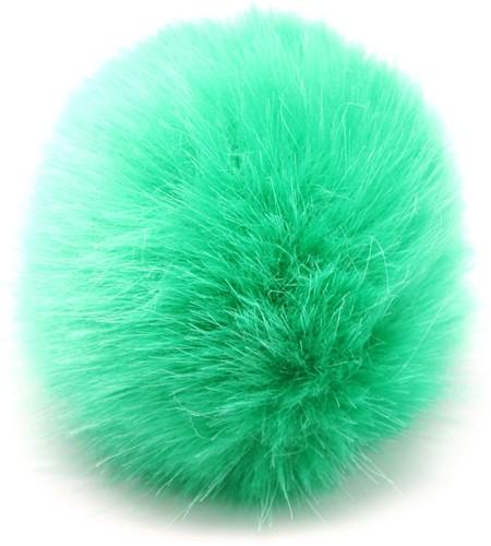 Rico Fake Fur Pompon Medium 9 Green