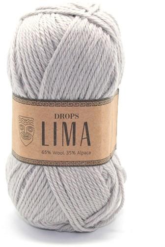Drops Lima Uni Colour 9010 Light grey