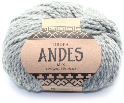 Drops Andes Mix 9015 Grey