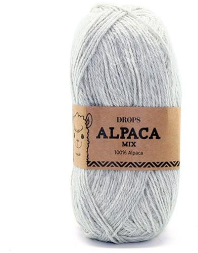 Drops Alpaca Mix 9020 Light Pearl Grey