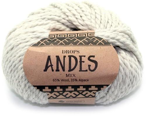 Drops Andes Mix 9020 Light Grey
