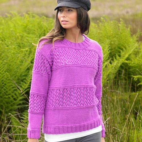 Knitting Pattern Stylecraft Special Chunky No. 9078 Sweater