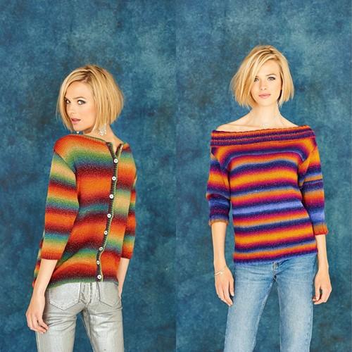 Knitting Pattern Stylecraft Cabaret DK No. 9181 Sweaters
