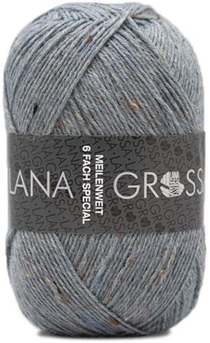 Lana Grossa Meilenweit 6-Fach 150 Tweed 9227