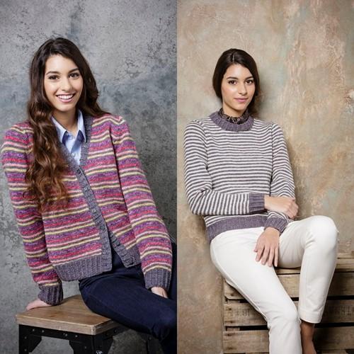 Knitting Pattern Stylecraft Batik DK No. 9290 Ladies Cardigan and Sweater