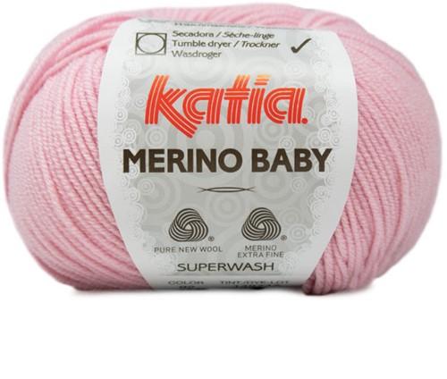 Katia Merino Baby 92 Light Pink