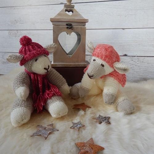Knitting Pattern Stylecraft Batik & Special DK No. 9356 Sleepy Sheep Toy and Hat