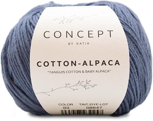 Katia Cotton Alpaca 93 Jeans