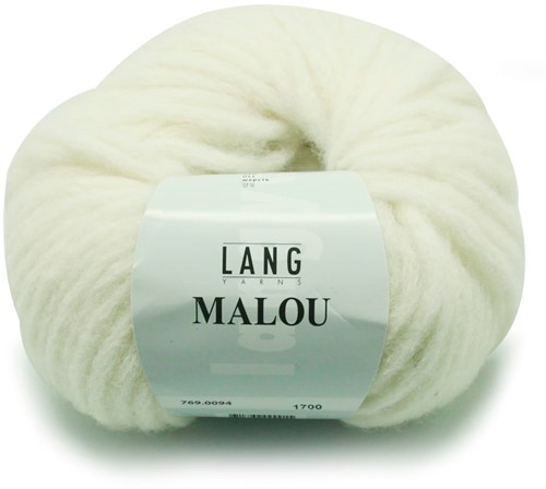 Lang Yarns Malou 94 Offwhite