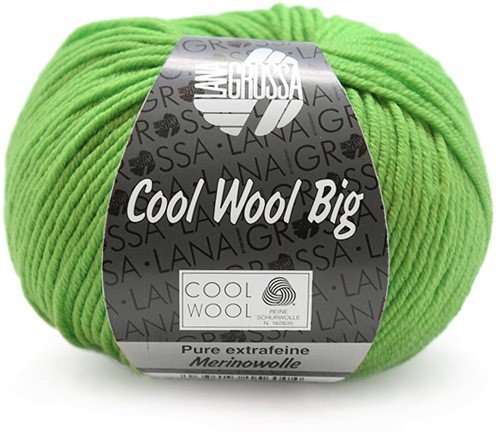Lana Grossa Cool Wool Big 941 Light Green