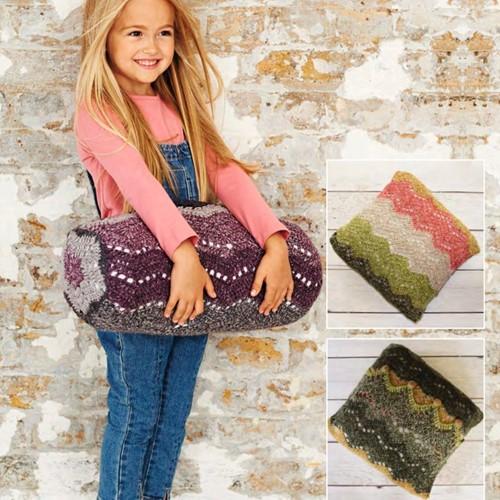 Crochet Pattern Stylecraft Batik Swirl DK No. 9488 Cushions