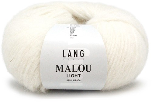 Lang Yarns Malou Light 94 Offwhite