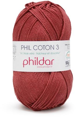 Phildar Phil Coton 3 1460 Rosewood
