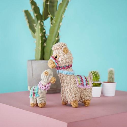 Crochet Pattern Stylecraft Batik DK No. 9595 Llama Toys