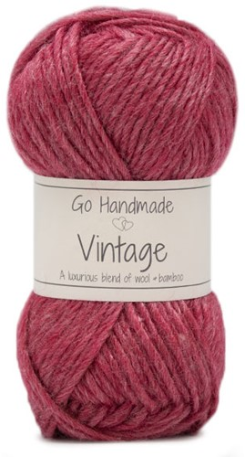 Go Handmade Vintage 95 Raspberry