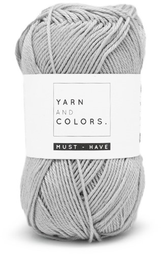 Yarn and Colors Must-have 095 Soft Grey