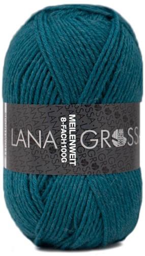 Lana Grossa Meilenweit 8-F 100 Uni 9672