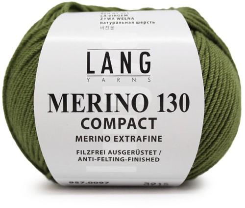 Lang Yarns Merino 130 Compact 97 Olive