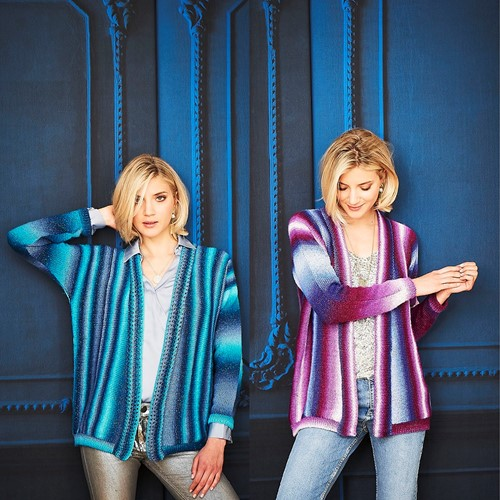 Knitting Pattern Stylecraft Cabaret DK No. 9710 Jackets