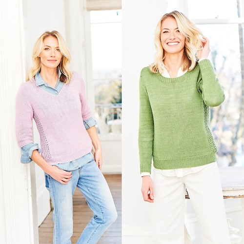 Knitting Pattern Stylecraft Naturals - Bamboo + Cotton DK No. 9750 Sweaters