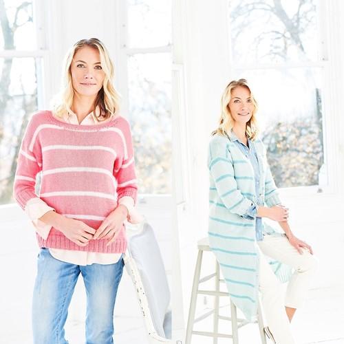 Knitting Pattern Stylecraft Naturals - Bamboo + Cotton DK No. 9753 Cardigan & Sweater