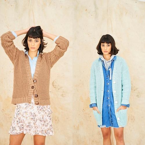 Knitting Pattern Stylecraft Special Chunky No. 9772 Cardigans