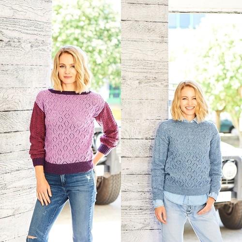 Knitting Pattern Stylecraft Highland Heathers DK No. 9793 Sweaters