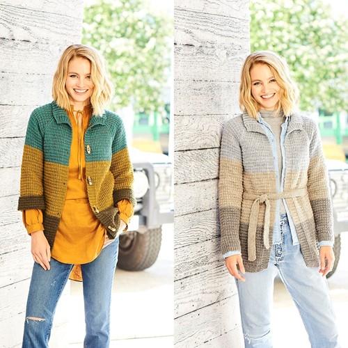 Knitting Pattern Stylecraft Highland Heathers DK No. 9795 Cardigans