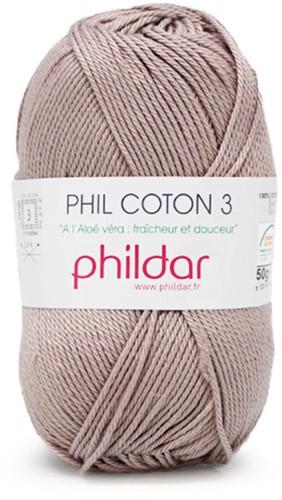 Phildar Phil Coton 3 1094 Taupe