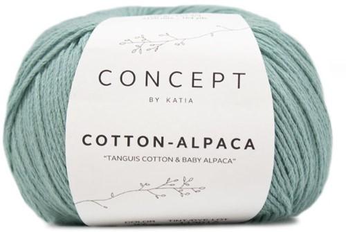 Katia Cotton Alpaca 97 Pastel green