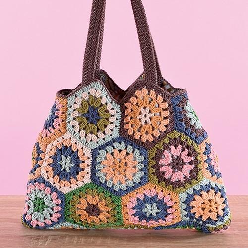 Catania Granny Square Bag Crochet Pattern