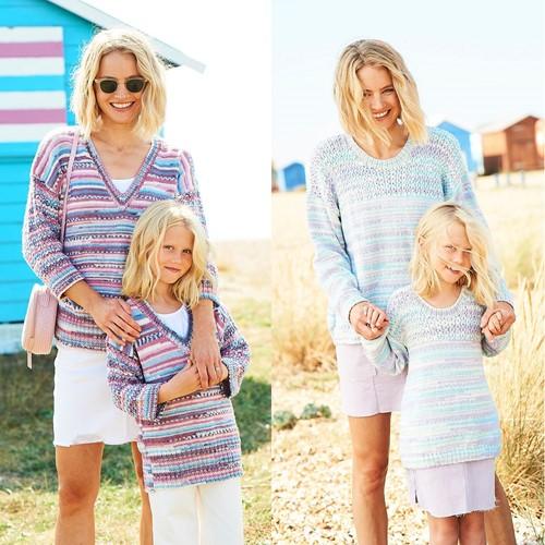 Knitting Pattern Stylecraft You & Me DK No. 9823 Sweaters