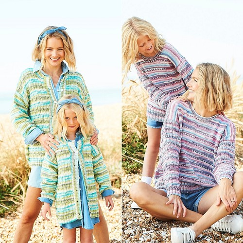 Knitting Pattern Stylecraft You & Me DK No. 9826 Sweaters and Cardigan