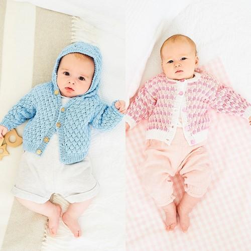 Knitting Pattern Stylecraft Naturals - Bamboo + Cotton DK No. 9830 Jackets
