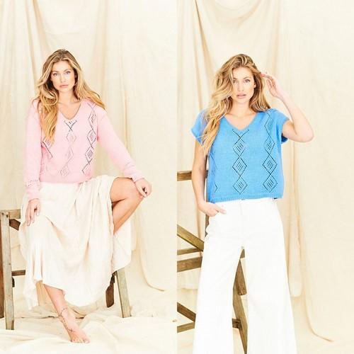 Knitting Pattern Stylecraft Naturals - Organic Cotton DK No. 9835 Tops