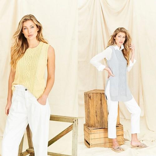 Knitting Pattern Stylecraft Naturals - Organic Cotton DK No. 9837 Tunics