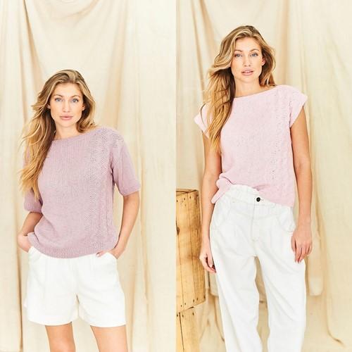 Knitting Pattern Stylecraft Naturals - Organic Cotton DK No. 9840 Tops