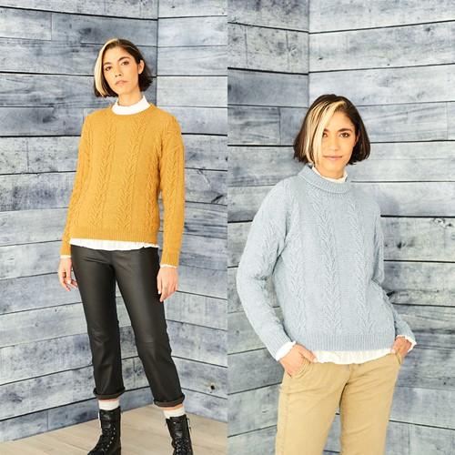 Knitting Pattern Stylecraft ReCreate DK No. 9859 Sweaters