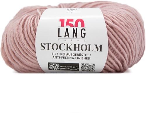 Lang Yarns Stockholm 9 Rose