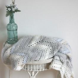 Crochet Pattern Zigzag Baby Blanket