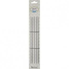 Drops Basic Double Pointed Needles Aluminium 20cm 2,5mm