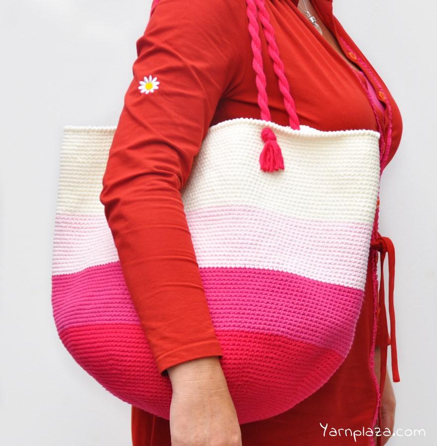 Crochet a Tote bag - Free Pattern