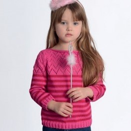 Knitting Pattern Phil Coton 3 Childrens' Sweater