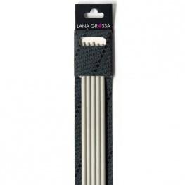 Lana Grossa 40cm plastic double pointed needles 6mm