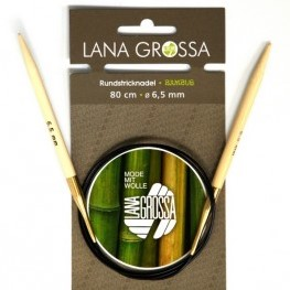 Lana Grossa Bambus Circular Knitting Needles 60cm 9mm