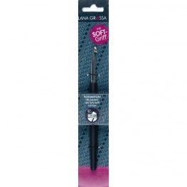 Lana Grossa Softgrip Crochet Hook 0.75mm