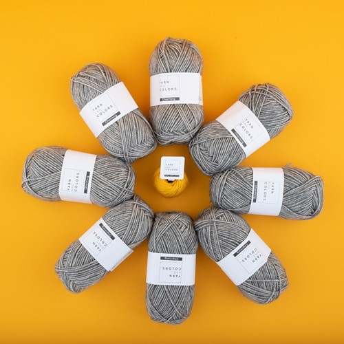 Yarn and Colors Toned Triangle Crochet Kit 5 Yarnplaza Edition