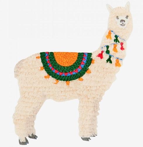 Embroidery Pattern Alpaca